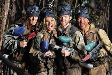 Bedlam Paintball - Paintballing day for 10 & light lunch at 100 plus locations - Save 95%