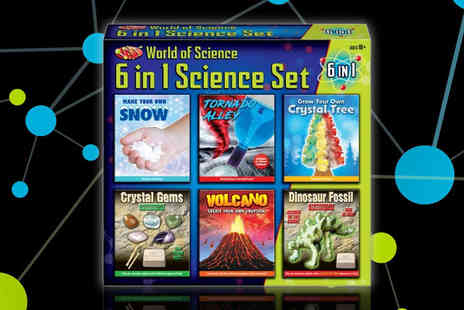 Direct 2 public - World of science 6 in 1 young explorers set - Save 68%