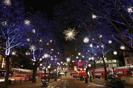 Premium Tours - Childs or adult ticket to a Christmas lights London bus tour - Save 67%