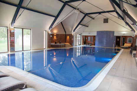Aldwark Manor Golf & Spa Hotel - Winter warmer spa day for one with two treatments, leisure access, hot drink and Danish pastry - Save 56%