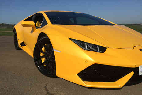 Supercar Test Drives - Three lap driving experience in a Lamborghini Huracan on a weekday, or weekend - Save 67%
