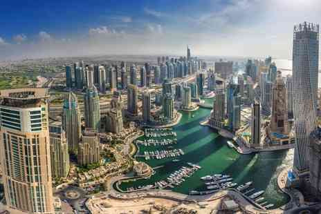 Tour Center - Three, Five or Seven night 4 Star Dubai getaway and flights - Save 23%