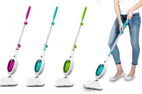 Groupon Goods Global GmbH - Daniel James Products 1300W Steam Mop with Optional Two Compatible Microfibre Cloths - Save 60%