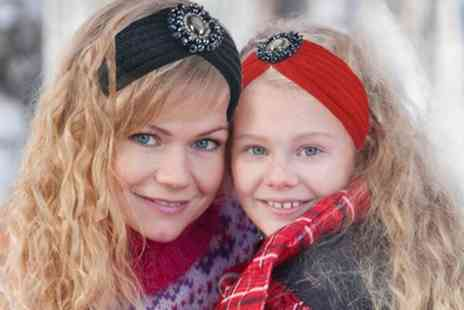 Groupon Goods Global GmbH - Mum and Daughter Headband Set - Save 75%