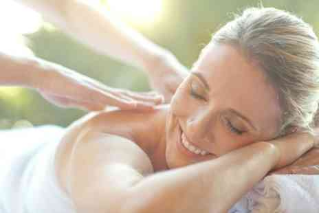 Chic Hair and Beauty - 30 Minute Back, Shoulder and Neck Massage with 30 Minute Facial - Save 65%
