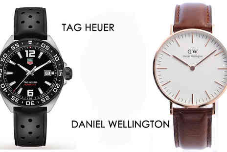 Brand Logic Europe - Mystery Watch Deal for Him or Her Armani, Gucci, Hugo Boss and More - Save 0%