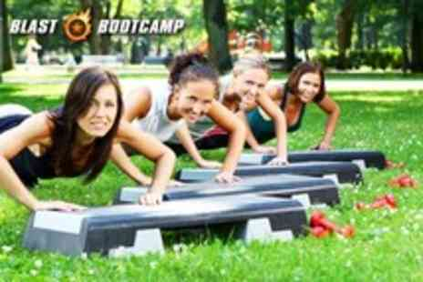 Blast Bootcamp - One month of unlimited 1 hour outdoor bootcamp sessions - Save 65%