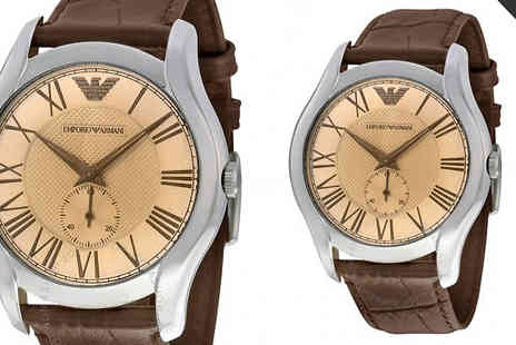 Brand Logic Europe - Emporio Armani Watches for Him & Her - Save 73%