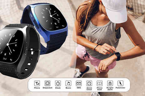 Ugoagogo - RM26 Android Bluetooth Led Smartwatch - 2 Colours - Save 86%