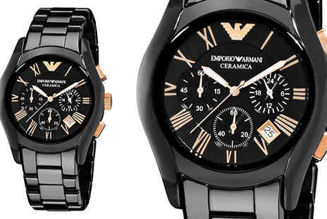 AW Watches - Mens Emporio Armani AR1410 Watch - Save 75%