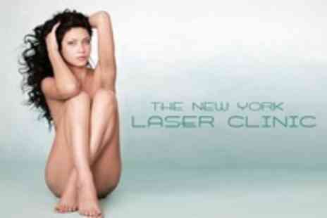 The New York Laser Clinic - Six Laser Hair Removal Treatments On Areas Such As Brazilian Bikini - Save 69%