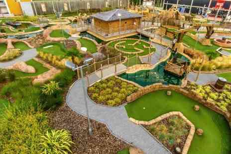 Adventure Leisure - Two adult or family of five tickets to 18 hole pirate golf - Save 53%