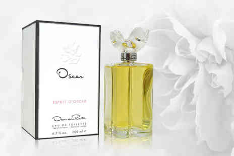 Deals Direct - 200mL Oscar De La Renta Esprit dOscar eau de toilette - Save 74%