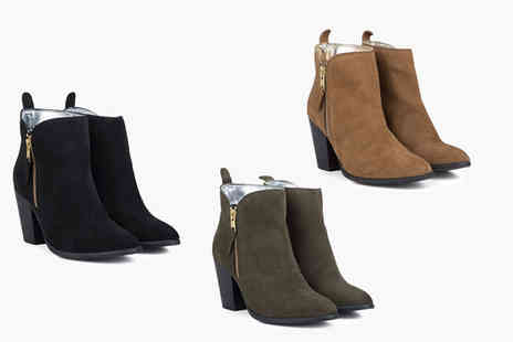 Redfoot - Ladies water resistant suede boot - Save 86%