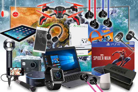 Brand Arena - Mystery electronics deal Samsung, Sony, JVC, Bose, Veho, Google, Goji and more - Save 0%