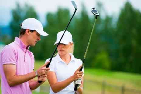 South Coast Golf Coaching - 45 Minute Taster Golf Lesson or 30 or 60 Minute Individual Golf Lesson - Save 60%