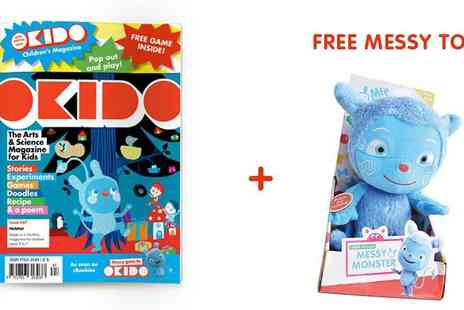 Okido - Okido Magazine Christmas Subscription, Art, Science and More for Curious Minds, Exclusive - Save 44%