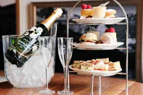 Falcon Hotel - Sparkling afternoon tea for 2 at 17th century inn - Save 50%
