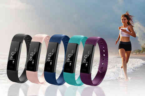 Yello Goods - 14 in 1 wireless ID115  fitness tracker smart watch choose from five colours - Save 78%