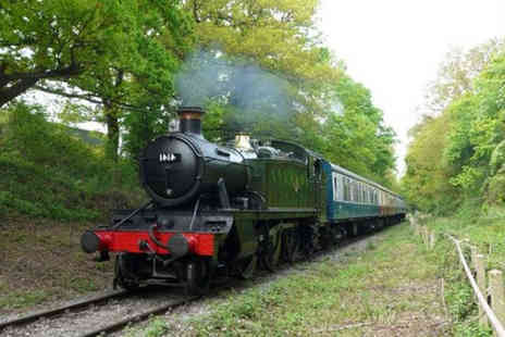 Buyagift - Epping, a steam train journey from North Weald to Ongar and a cream tea for two in Ongar - Save 0%