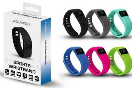 Groupon Goods Global GmbH - Aquarius TW64 Entry Fitness Tracker in Choice of Colour - Save 84%