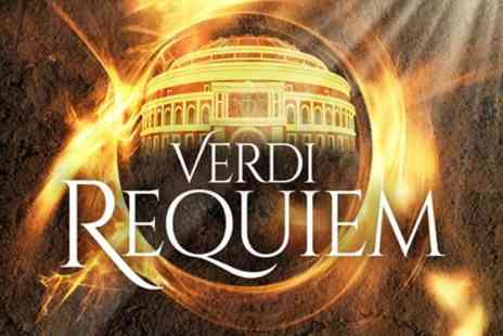 Royal Philharmonic Orchestra - One best available Rausing rear or front circle ticket to Verdis Requiem at the Royal Albert Hall on 20 November - Save 40%