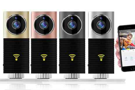 Groupon Global Goods Gmbh - Clever Dog Wireless Wi Fi CCTV Camera with Night Vision, Motion Detection, Two Way Audio and Alert Messages - Save 67%