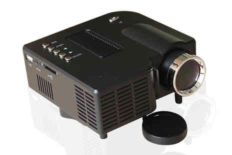 Jaoyeh - Portable LED Projector Two Colours - Save 83%