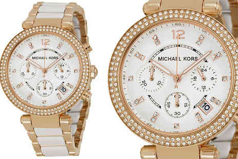 AW Watches - Michael Kors Two Tone MK5774 Chronograph Watch - Save 64%