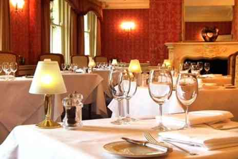 Esseborne Manor Hotel - 2 AA Rosette Hampshire manor, tasting menu meal for 2 - Save 28%