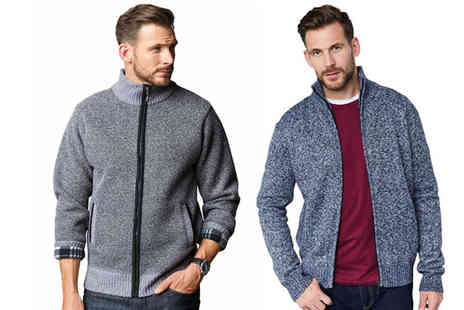 Chums - Fleece lined marl jacket choose from four colours - Save 43%