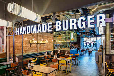 Handmade Burger Company - Two burgers choose from 22 nationwide locations - Save 48%