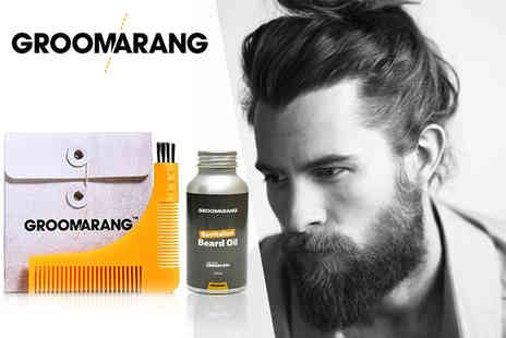 Forever Cosmetics - Groomarang beard comb & oil - Save 82%