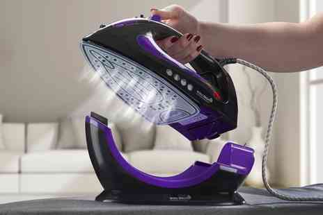 Groupon Goods Global GmbH - One or Two Easy Steam 2200W Corded or Cordless Irons in Choice of Colour - Save 62%