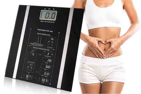 Direct 2 public - Digital body fat BMI weighing scales - Save 73%