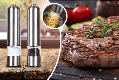 Direct 2 public - Electric salt and pepper mills - Save 70%