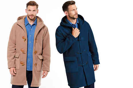 Chums - Borg lined duffle coat choose from two colours - Save 45%