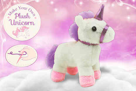 Direct 2 public - Make your own plush unicorn - Save 40%