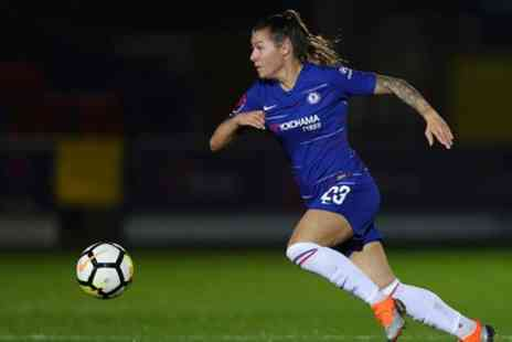 Chelsea Football Club - Choice of Chelsea Women Fixture on 2 December 2018 or 6 January 2019 - Save 33%