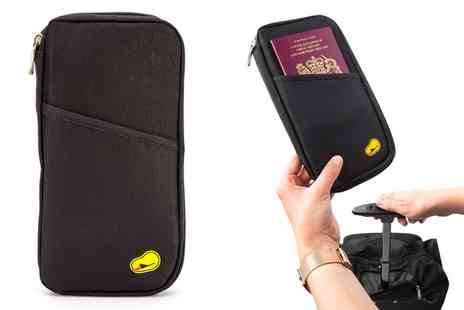 Groupon Goods Global GmbH - One, Two or Three Travel Document and Passport Holders - Save 93%