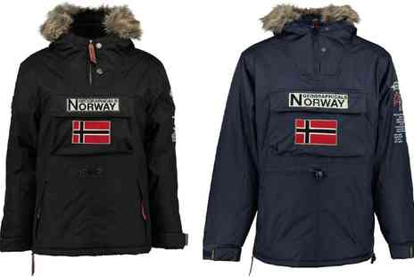 Groupon Goods Global GmbH - Geographical Norway Mens Parka With Free Delivery - Save 0%