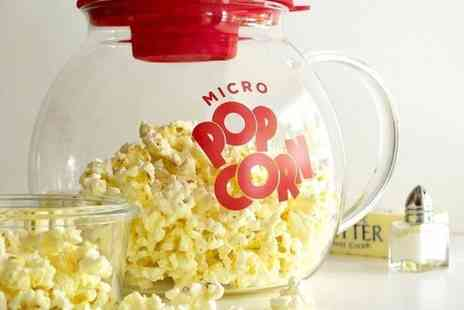 Direct 2 public - Glass microwave popcorn maker - Save 50%