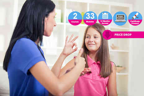 Vizual Coaching - Teaching assistant and sign language course bundle - Save 97%