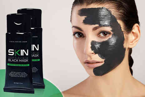 Forever Cosmetics - 100ml blackhead peel off mask and 40 eye masks - Save 91%