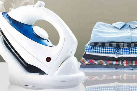 Home Season - 1800W Cordless Steam Iron with Non Stick Soleplate - Save 75%