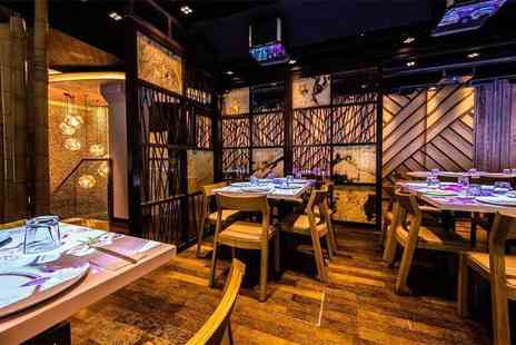 Inamo - Sushi and dim sum afternoon tea for one person with a glass of bubbly - Save 52%