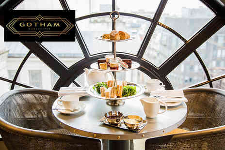 Hotel Gotham - Afternoon tea for two people with a glass of Prosecco each - Save 40%