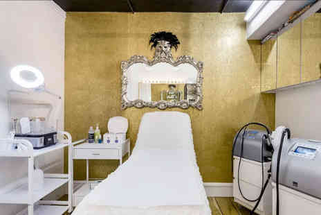 Huda Salon - Luxury pamper package with three treatments and refreshments - Save 77%