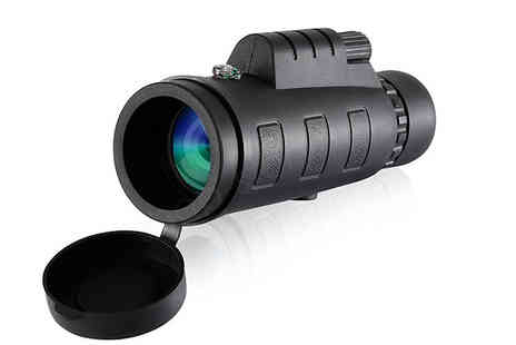 Shop Story - Monocular Military Style Telescope With Tripod And Accessories - Save 76%