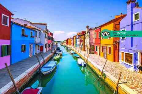 Via Holiday - Two or three night 4 Star Venice getaway with breakfast, islands tour and flights - Save 28%